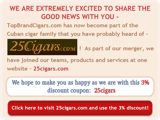 Cuban cigars on 25Cigars.com